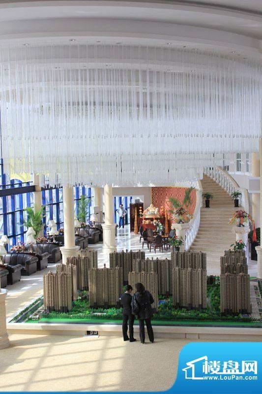 恒盛豪庭沙盘外景图(2011.5)