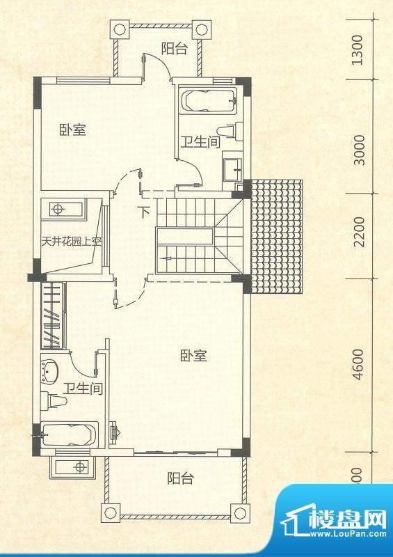 桂丹颐景园达观艺墅面积:256.00平米