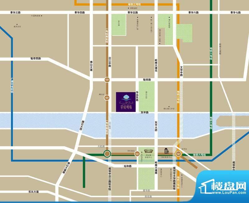 翠堤明珠交通图
