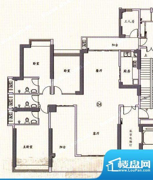 翠堤明珠户型图面积:0.00平米