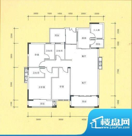 风度广场10栋03户型面积:0.00平米