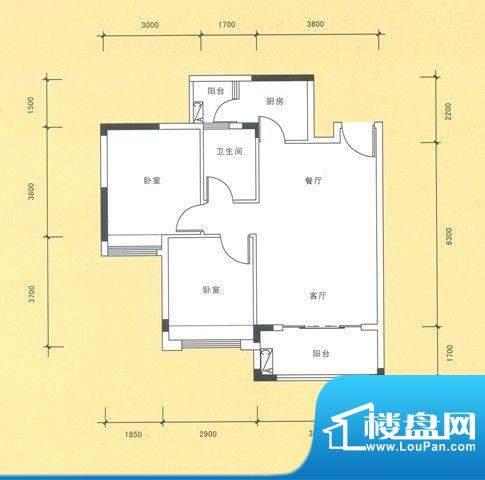 风度广场11栋04户型面积:0.00平米
