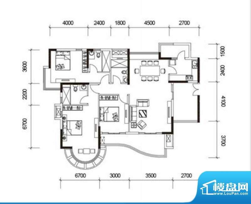 君御海城31、33栋B1面积:147.24平米