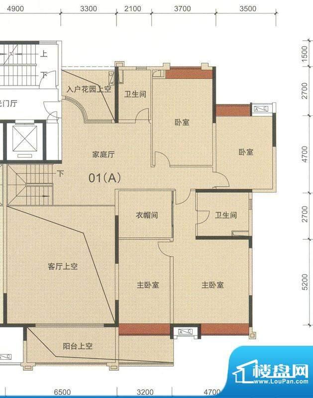 中海万锦东苑中央叠面积:408.20平米