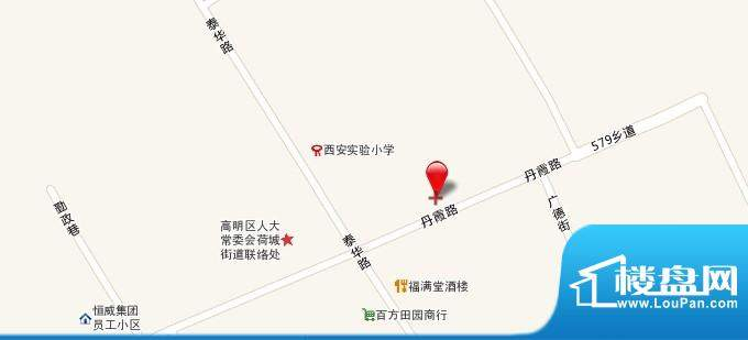 百悦湾交通图
