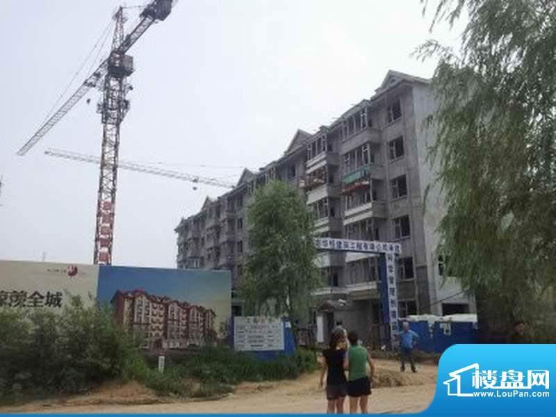 澜山溪谷工地入口外景图(2012-07)