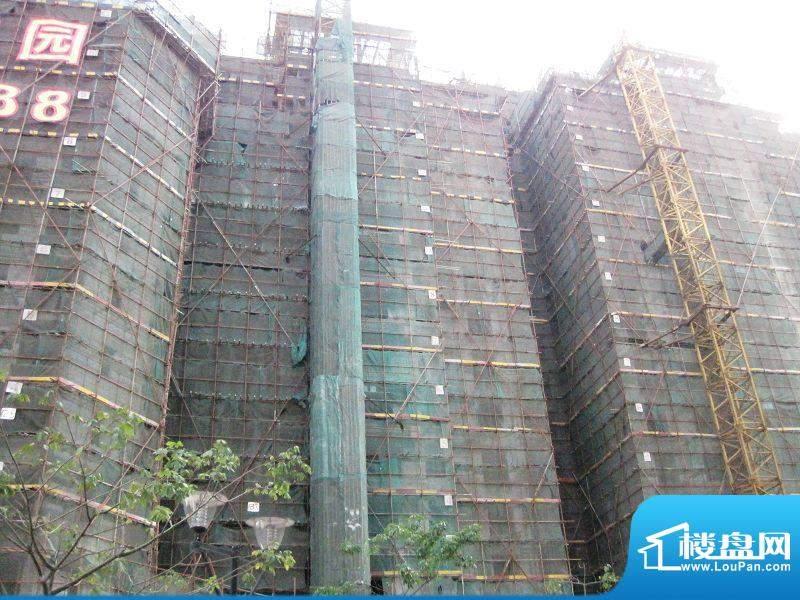 锦隆花园二期14栋外景图(2011.01.04)