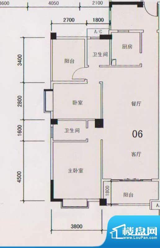 锦隆花园二期12座3-面积:114.39平米