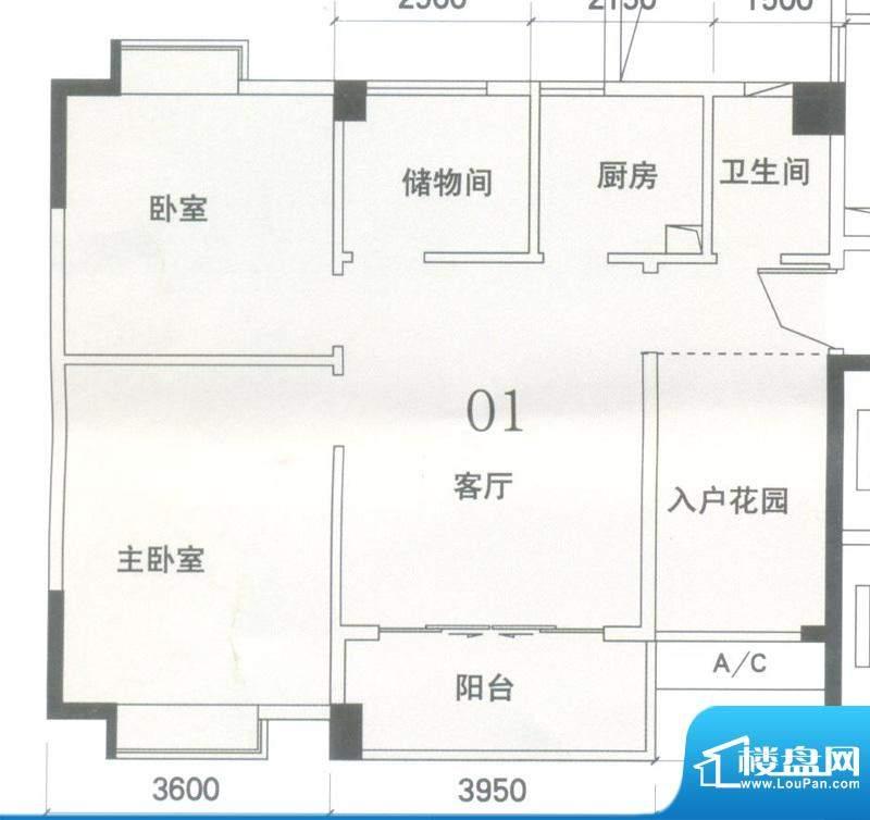 锦隆花园二期11和14面积:83.59平米