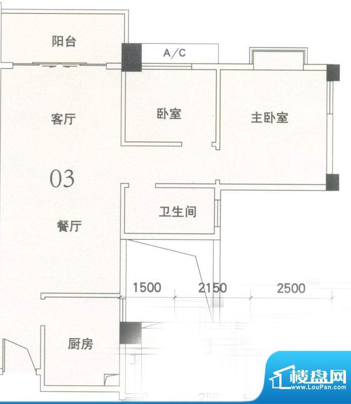 锦隆花园二期11和14面积:81.04平米