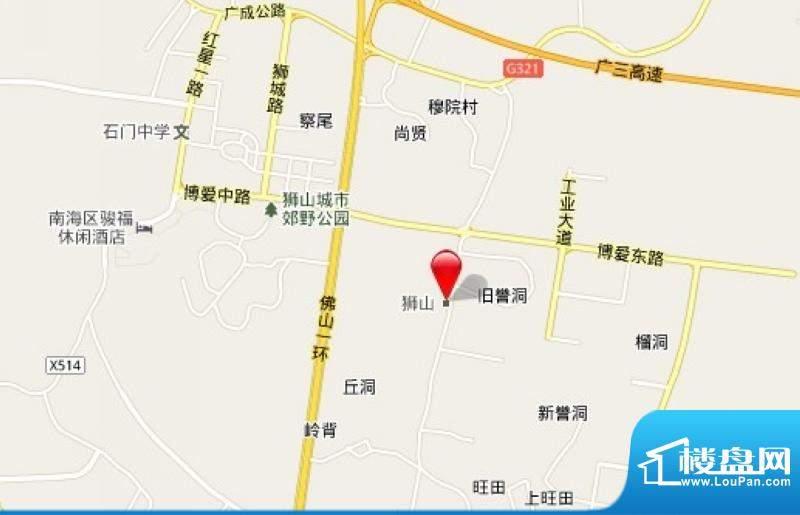 海逸卡拉公寓交通图
