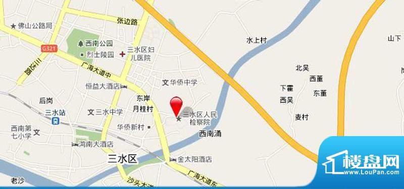 东海蓝湾交通图