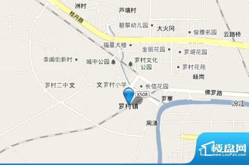 翠湖绿洲花园交通图