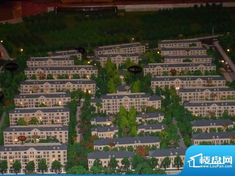 绿地中央墅实景图