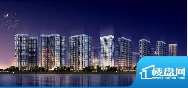 中海金沙水岸实景图