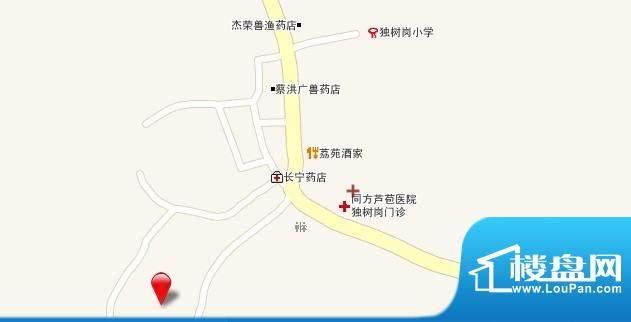 广东芭蕾雨·逸景交通图
