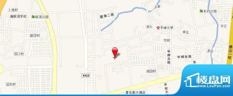 广佛智城交通图