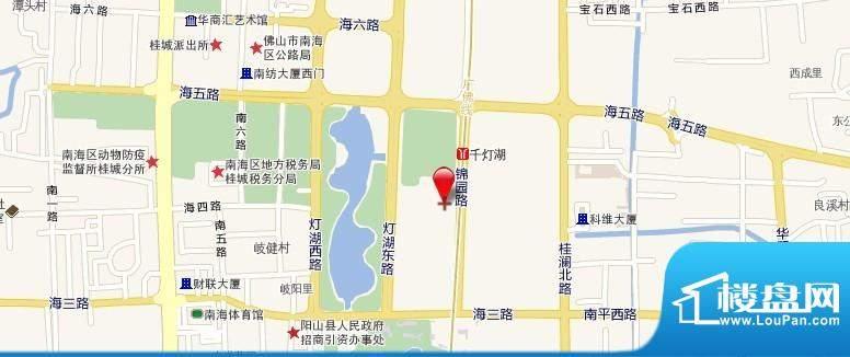 华南国际金融中心交通图