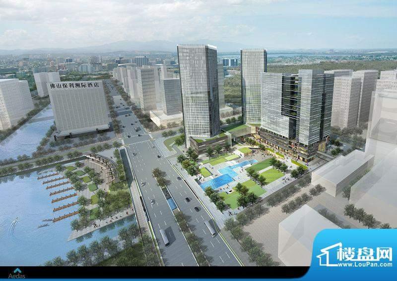 华南国际金融中心实景图