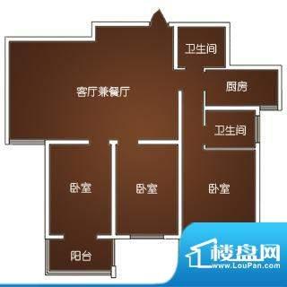 星城国际一-三期标准面积:137.37m平米
