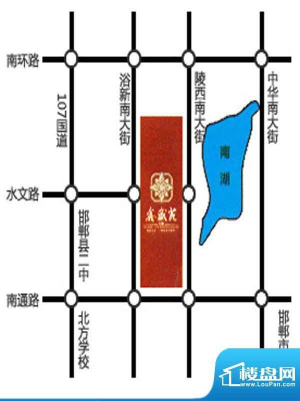 万聚鑫盛苑交通图
