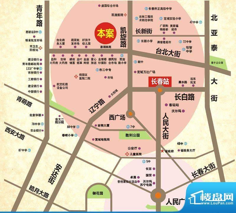 青石花语交通图