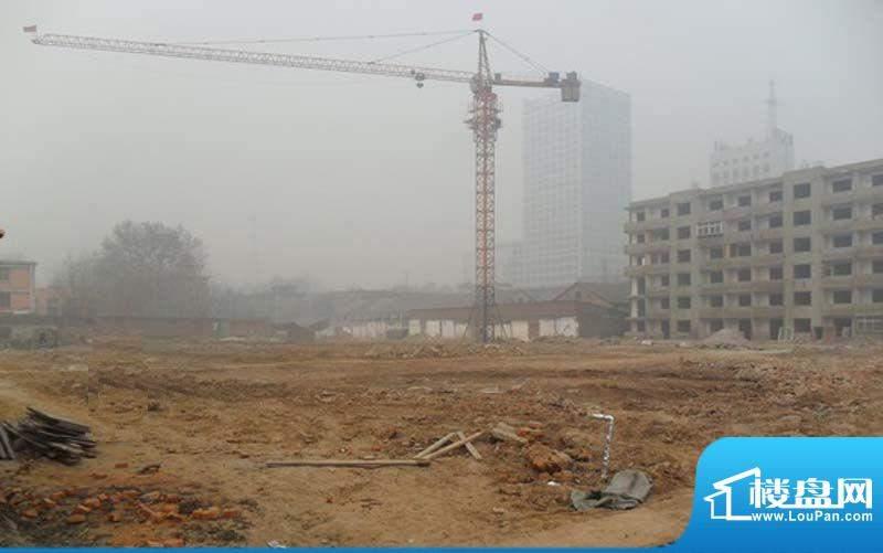 龙鼎国际施工实景图1(2011.12)
