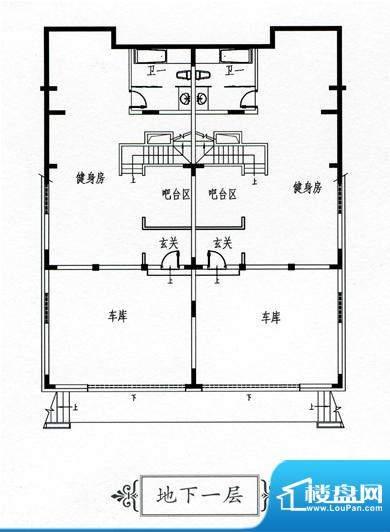 天屹碧海庄园B1地下面积:0.00m平米