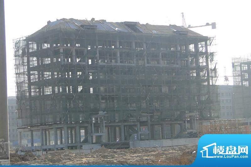 汇峰山海郡二期多层工程进度(2011.02)