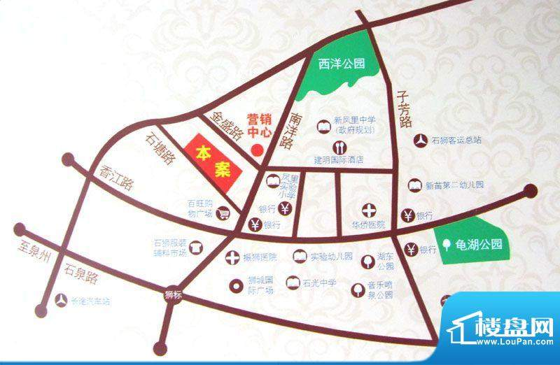 鼎盛骏景交通图