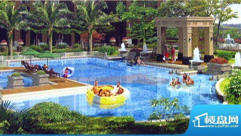 鼎盛骏景花园泳池