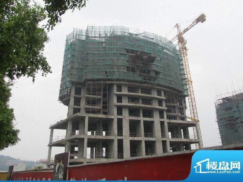 滨江一号2#楼工程进度(20120410)