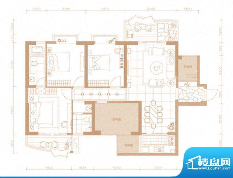 东海湾太古广场3#楼面积:0.00m平米