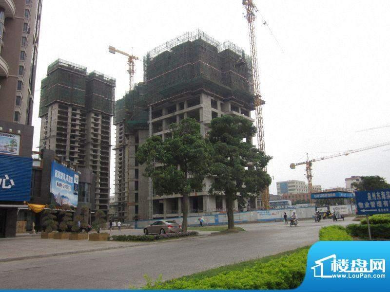 东海湾太古广场一期工程进度(20111019