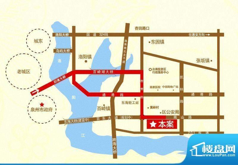 锦绣嘉园交通图