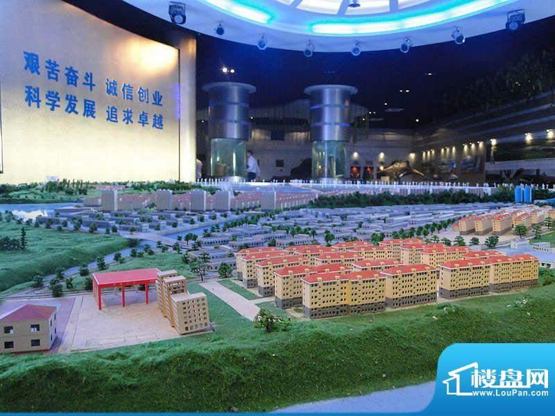 天海湾水城沙盘实景2011-9-26