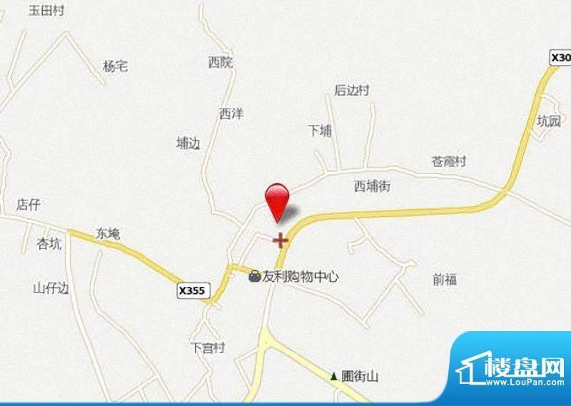 东兴豪园交通图