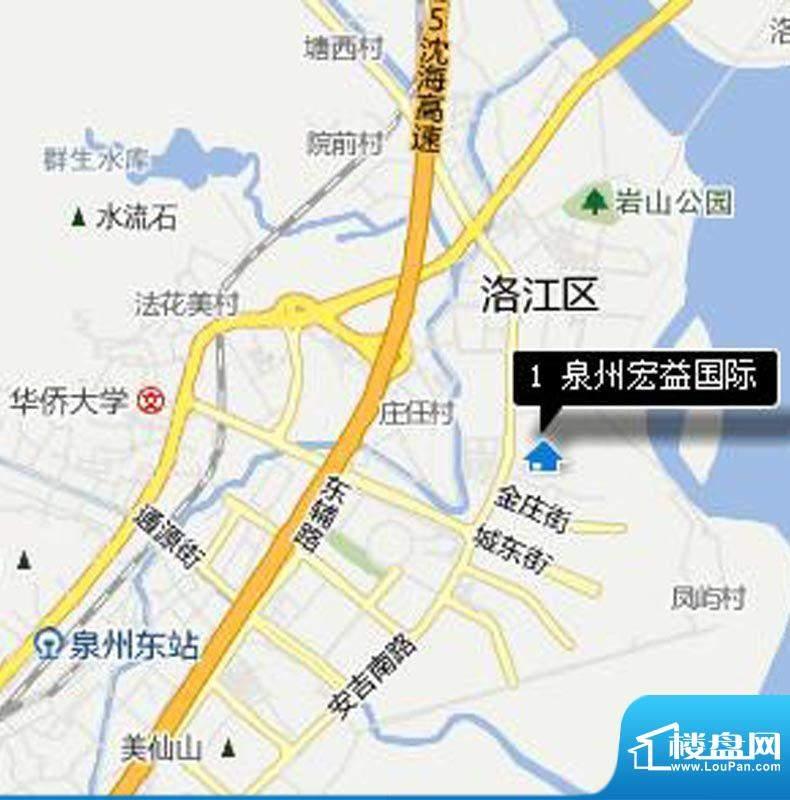 宏益江山丽园交通图