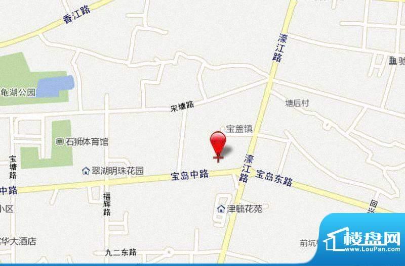 濠江国际交通图