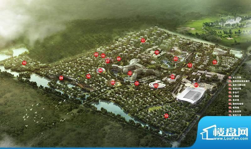 新地威登小镇实景图
