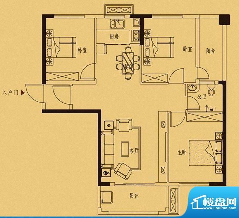 百捷中央墅府9#楼05面积:0.00m平米