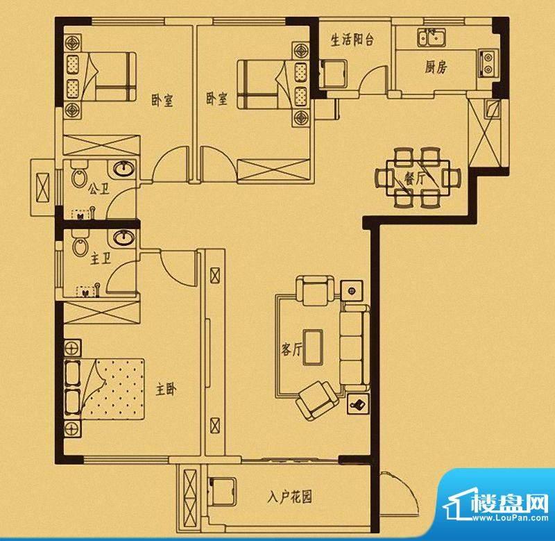 百捷中央墅府1#-6#楼面积:0.00m平米
