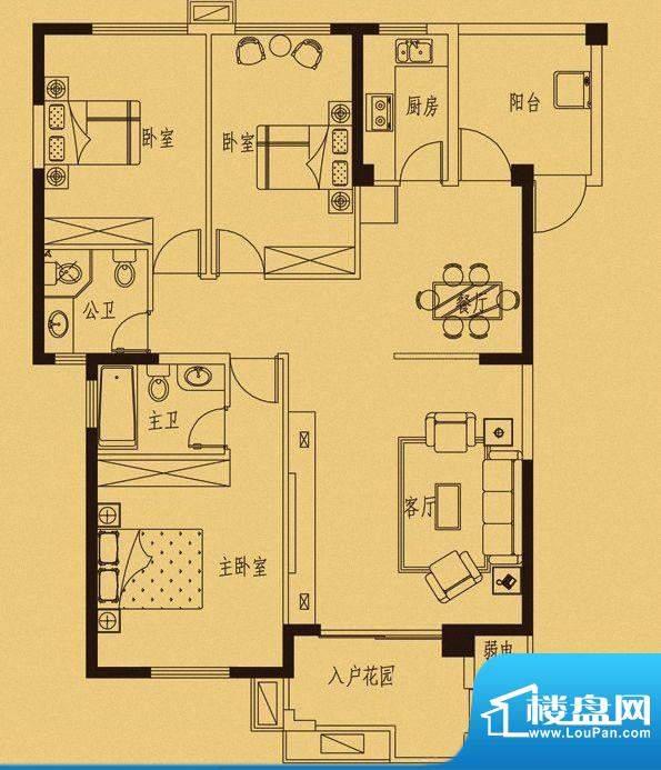 百捷中央墅府7#楼01面积:0.00m平米