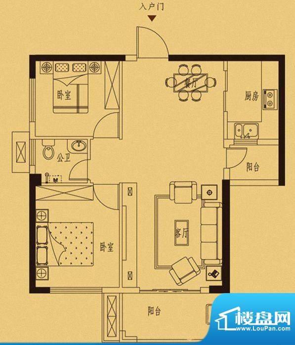 百捷中央墅府1#-5#楼面积:0.00m平米