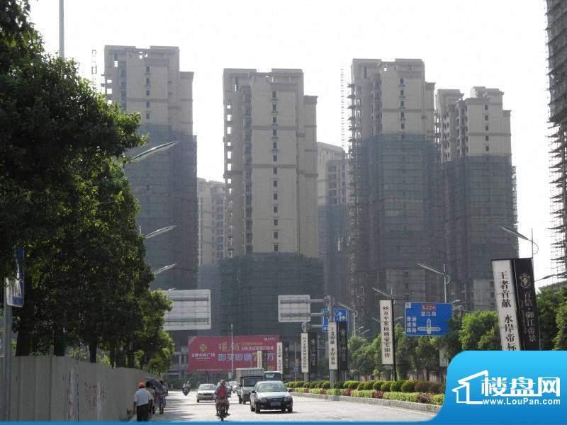 百捷中央墅府工程进度(20120906)