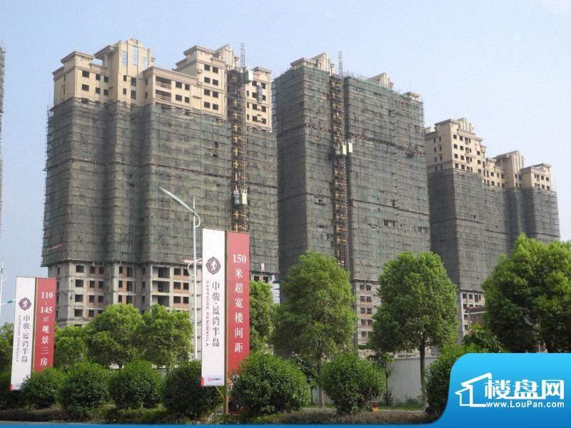 百捷中央墅府工程进度(20120808)