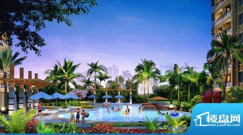 惠港新城游泳池