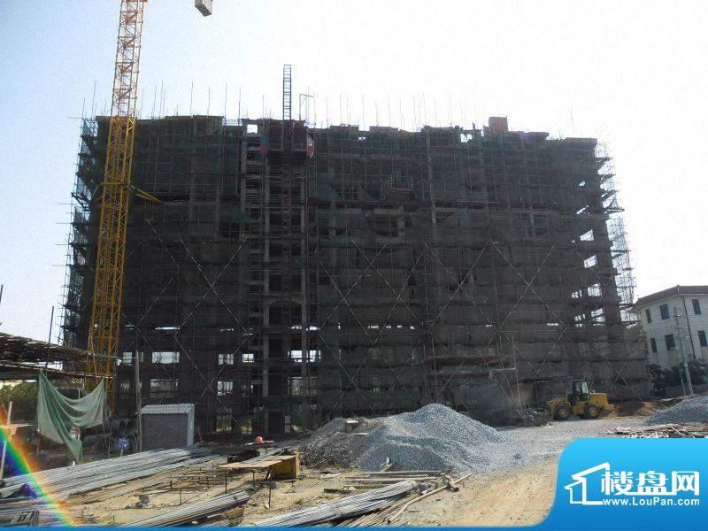 恒沣花园1#楼工程进度(201110)