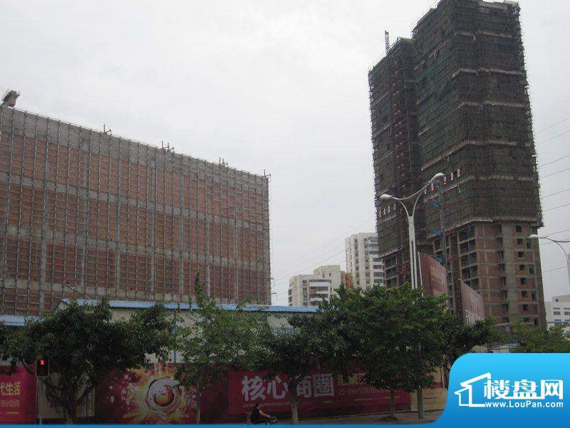 富临嘉园工程进度图(20111021)