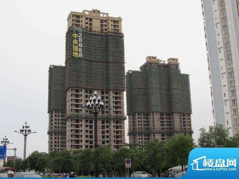 百捷中央领地工程进度(20120605)